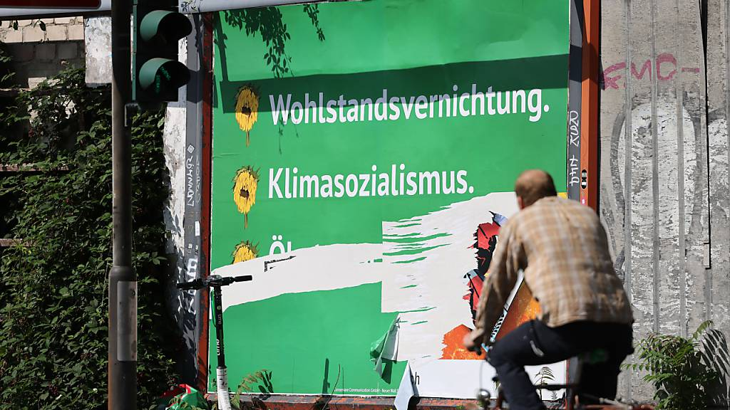 Deutsche Grüne wehren sich gegen Anti-Grünen-Plakate