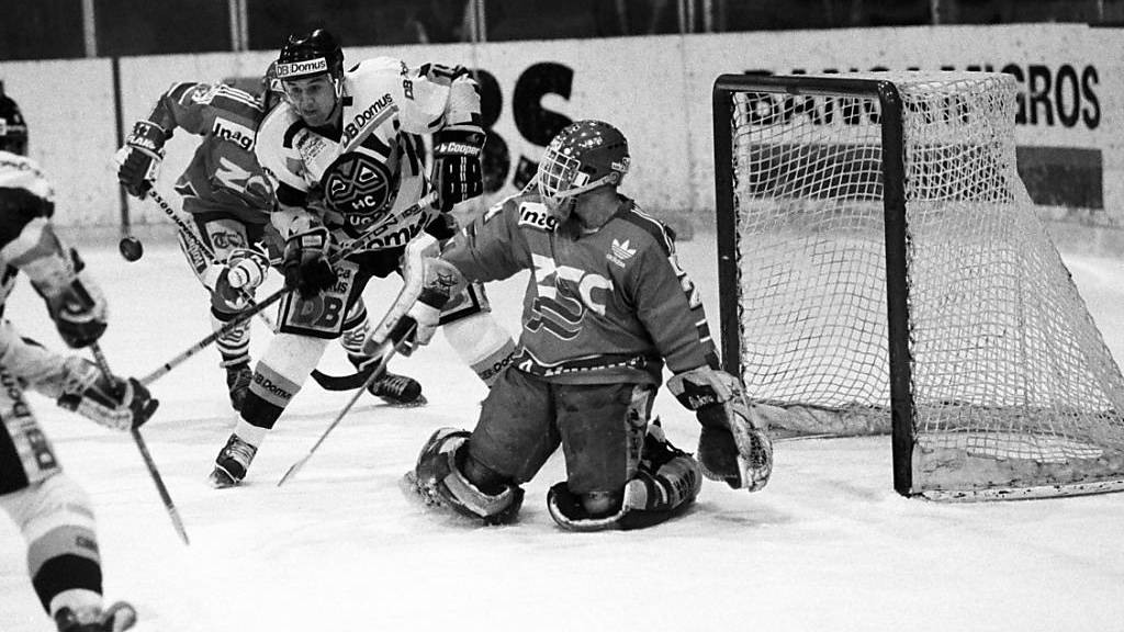 Der ZSC schrieb vor 28-Jahren mit dem Sieg in den Playoffs gegen Lugano Playoff-Geschichte