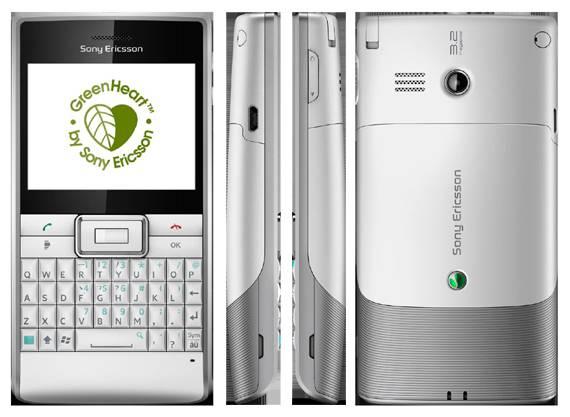Smartphone: Sony Ericsson Aspen.