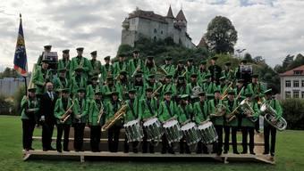 Die Stadtjugendmusik Dietikon in Burgdorf.