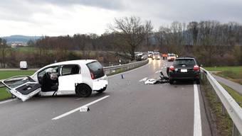 Der jüngere Fahrer verletzte sich schwer. Die Unfallursache ist noch unklar.