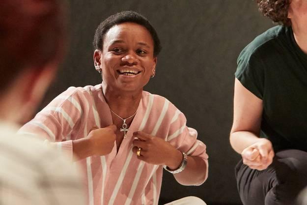 Die Kongolesin Carine Kapinga Grab (33) konnte ihre Theaterkarriere in der Schweiz fortsetzen. Dem Maxim-Theater sei Dank.