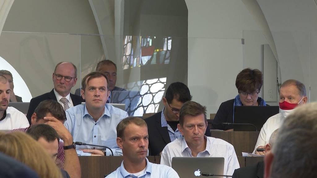 Ausgestellt: Die Solothurner Kantonsräte ohne Zertifikat müssen während der Session hinter Plexiglaswänden