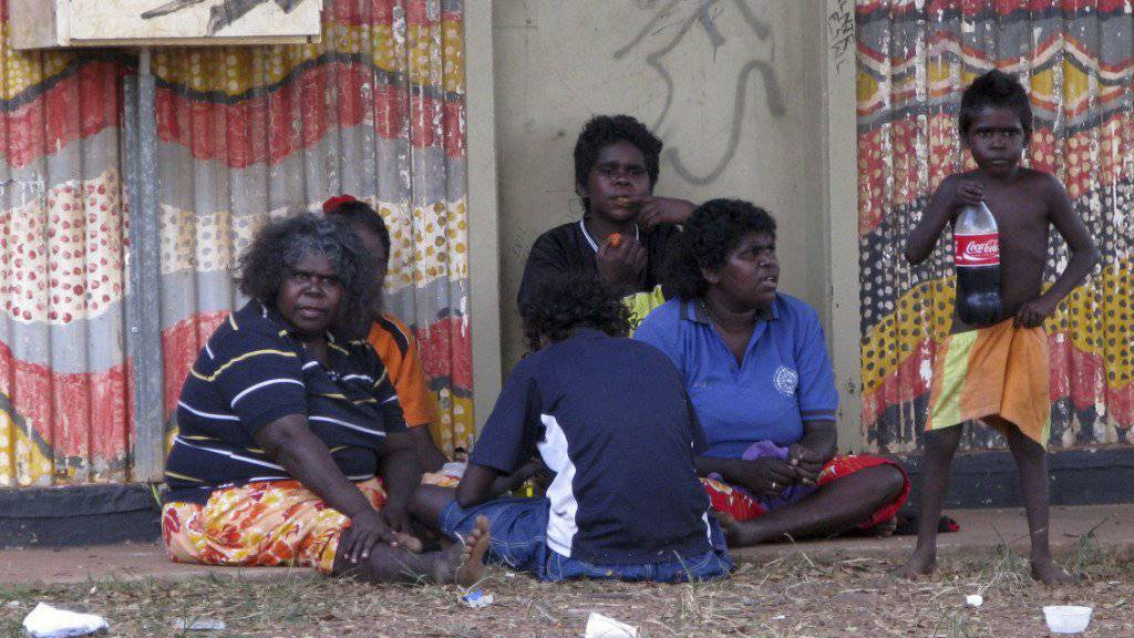 Australische Ureinwohner in Wadeye (Archiv)