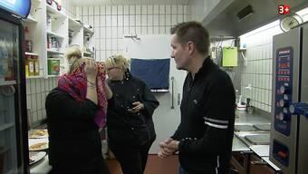 «Bumann der Restauranttester» in Lengnau, 1. Akt: Das vernichtende Testessen.