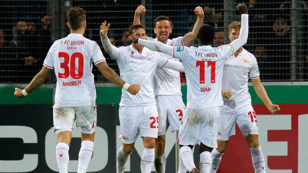 Union Berlin und Bayern München im Achtelfinal