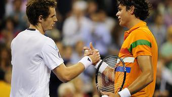 Andy Murray hielt Milos Raonic in Schach