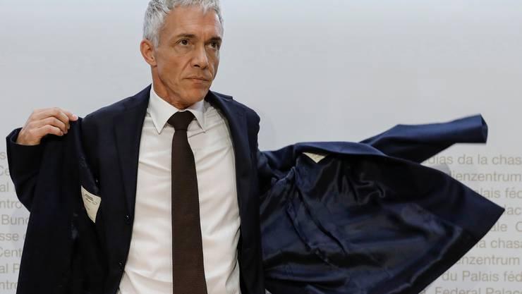 Michael Lauber: In Bellinzona abgeblitzt. (KEYSTONE/Peter Klaunzer)