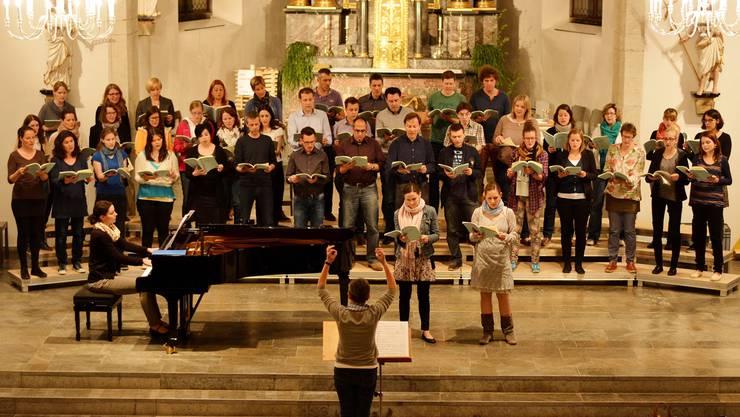 Der Kirchdorfer Chor singt zum Palmsonntag Werke von Schumann und Lauridsen. ZVG