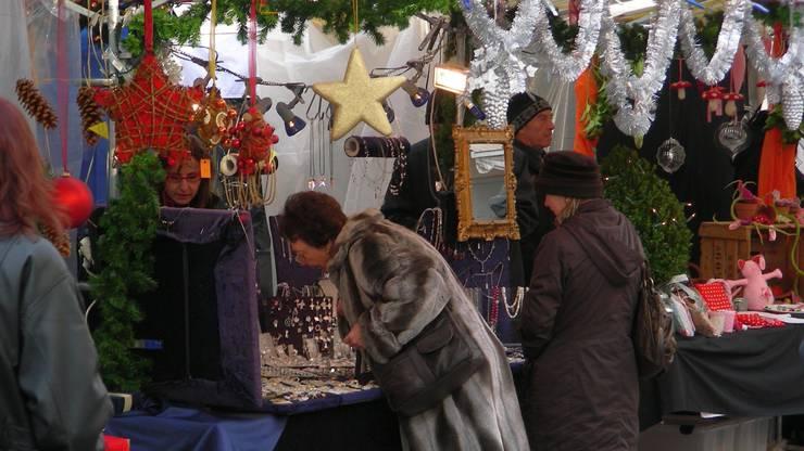 Schweren Herzens wurde der Weihnachtsmarkt in Frick abgesagt. (Archiv)