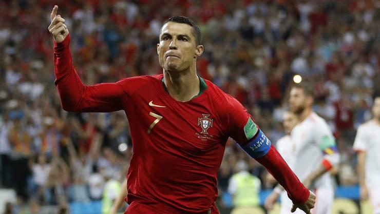 Cristiano Ronaldo bejubelte am Freitag drei Treffer.