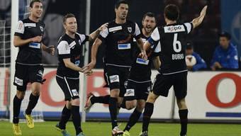 Der FC Aarau spielt auswärts gegen den FC Zürich