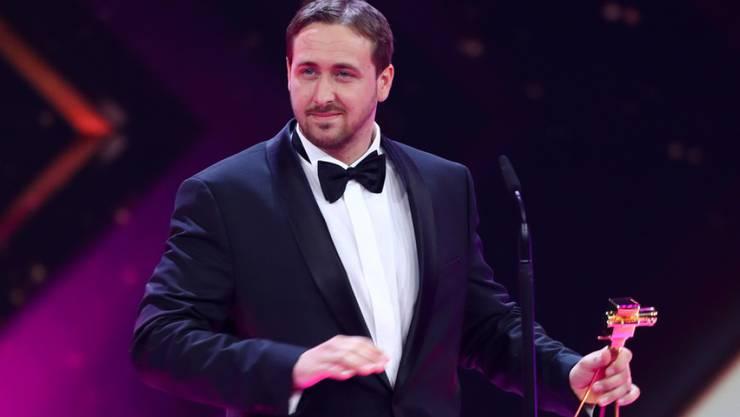 """""""Für mich war's saugeil"""": Koch Ludwig Lehner als falscher Ryan Gosling genoss seine Sekunden im Rampenlicht."""