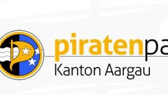 Das Logo der Piratenpartei Aargau.