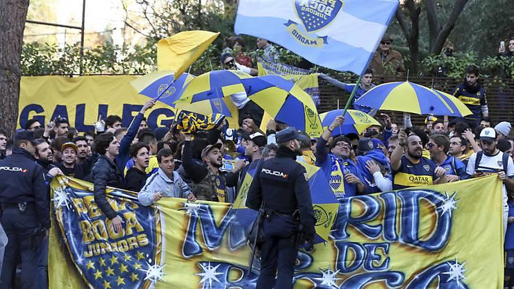 In Madrid soll es keine Fan-Krawalle geben