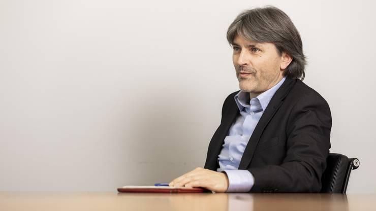 Markus Bärtschiger Stadtpräsident Schlieren und  SP-Kantonsrat