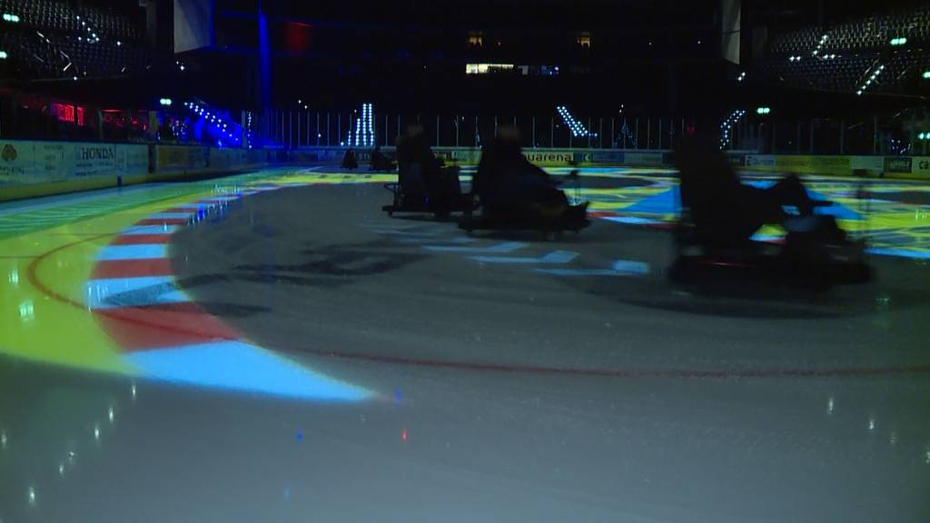 Kart on Ice im Hallenstadion
