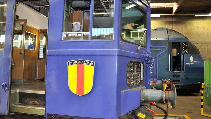 Der Tunnelkino-Wagen in der Revision
