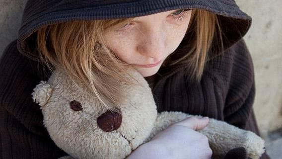 Schwer behinderte Kinder als Belastung