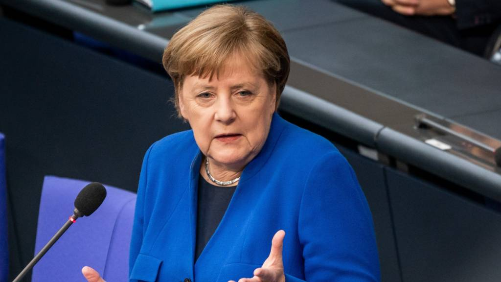 Merkel und Macron stellen Initiative für Corona-Wiederaufbau vor