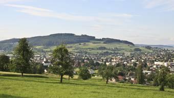 Ein Blick vom luzernischen Pfeffikon ins Oberwynental: 10,5 Hektaren Bauland will der Kanton auszonen.