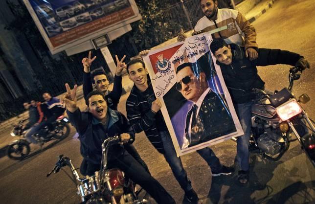 Demonstrierende in Ägypten