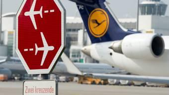 Kein Fortkommen mit Lufthansa vom Flughafen München