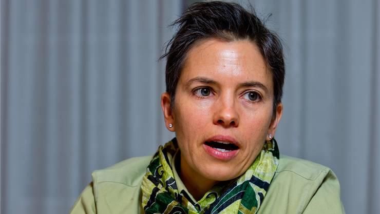 Gemeinderätin Mirjam Egloff spricht über Entwicklung.Emanuel Freudiger