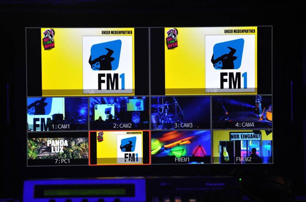 Der Freitagabend am 13.  BBC Open