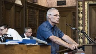 «Blödsinn»: Michael Wüthrich (Grünes Bündnis) weist die Kritik an seiner Führungsarbeit zurück.