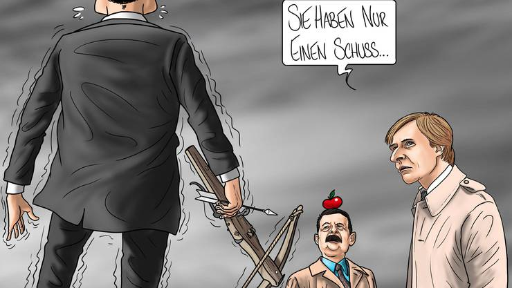 © Karikatur: Silvan Wegmann
