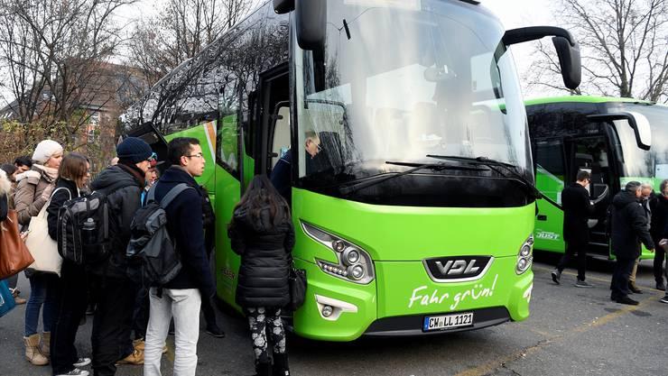 Bisher steuerten die Fahrzeuge erst den Carpark am Sihlquai in Zürich an.