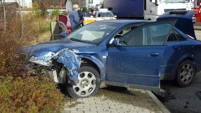 Das Auto, in dessen Kofferraum Chloé entführt worden war