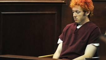 Der mutmassliche Todesschütze von Aurora ist am Montag erstmals vor Gericht erschienen