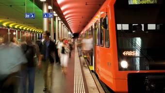 RBS-Bahnhof in Bern. (Symbolbild)