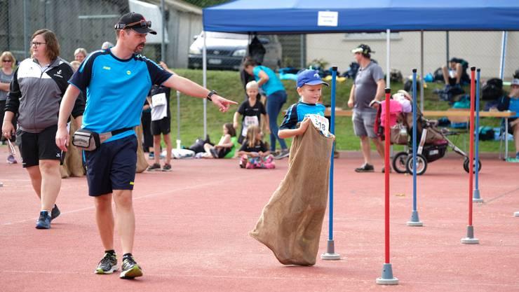 Jugendsporttag des Regionalturnverbands in Schnottwil