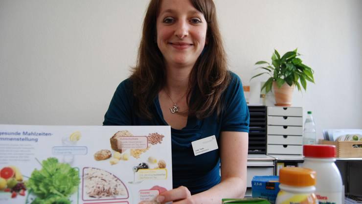 Ernährungsberaterin Carla Taufer: «Ich esse gerne und ich koche gerne, das hilft bei einer gesunden Ernährung
