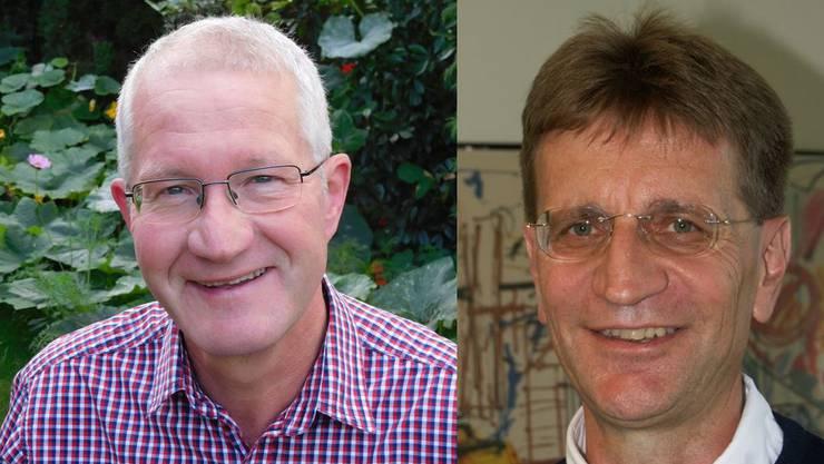 Gemeinderat Berndt Samsinger (links) wurde am 25. September gewählt. Obwohl er sein Amt noch nicht angetreten hat, will er Gemeindeammann Christian Baumann des Amtes entheben.