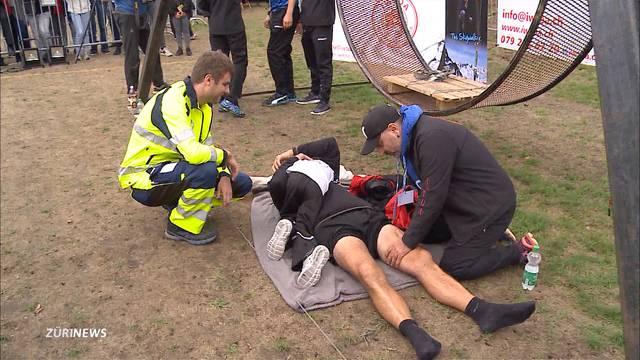 Freddy Nock schafft neuen Weltrekord im Todesrad