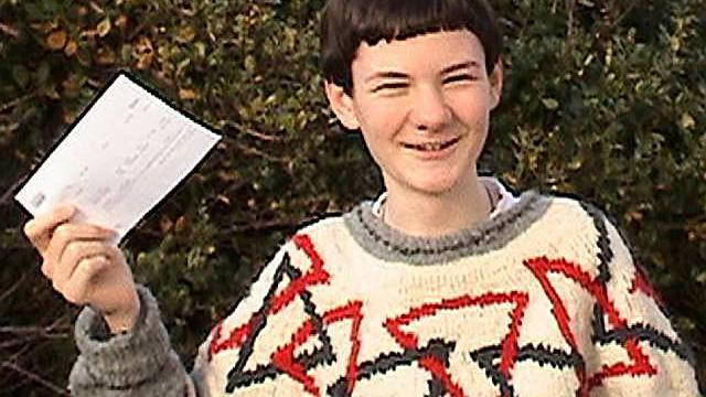 14-jähriger Arran freut sich auf Cambridge (Foto: Familie)