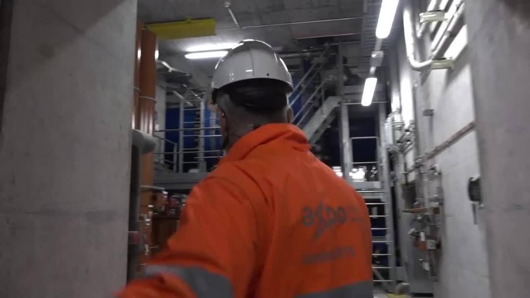Touristische Führungen im Pumpspeicherwerk Limmern