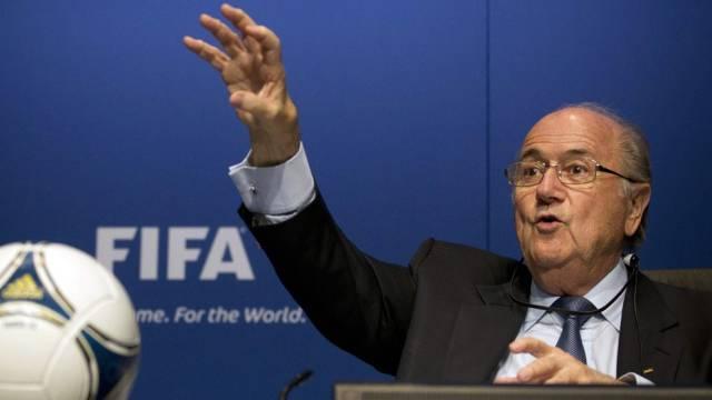"""FIFA-Präsident Blatter: """"Historischer Tag für Fifa-Reformprozess"""""""