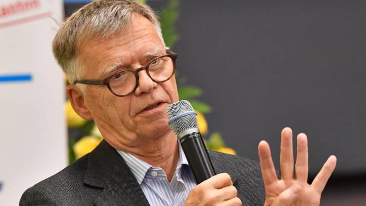 AZ-Medien-Präsident und CH-Media-Verleger Peter Wanner.