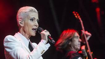 Marie Fredriksson von Roxette letzten Sommer am Festival Moon & Stars in Locarno. Das Konzert absolvierte sie zum grössten Teil sitzend. Nun hat sie beschlossen, das kräftezehrende Tour-Leben vollends aufzugeben. (Archivbild)