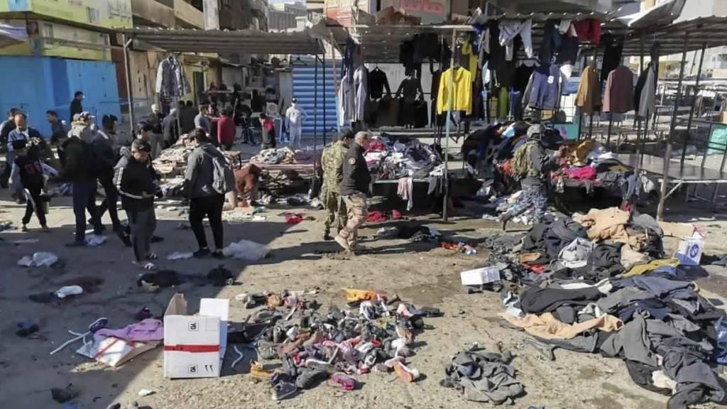 28 Tote und 70 Verletzte bei Doppelanschlag in Bagdad