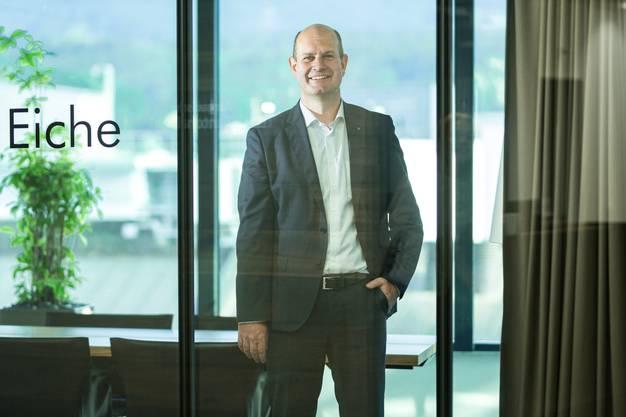 Der neue CEO der Aargauer Kantonalbank (AKB) Dieter Widmer