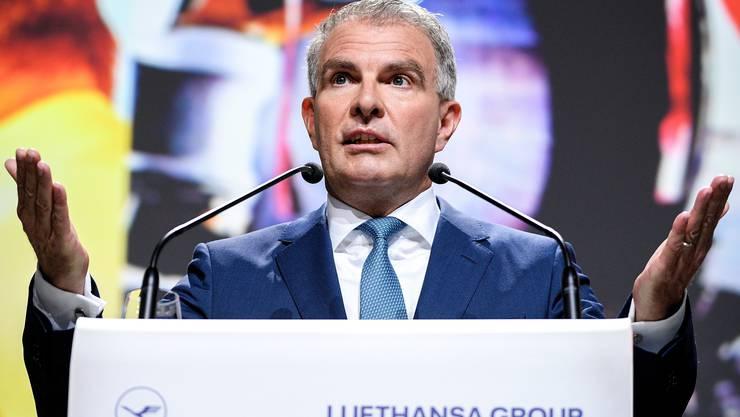 Lufthansa-Chef Carsten Spohr.