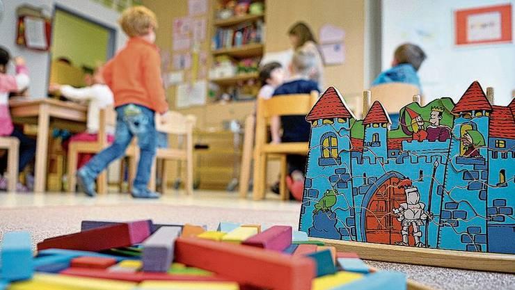Ab heute können die Schlieremer Kinder wieder im Kleinkindertreff spielen.