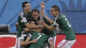 Mexiko gegen Kamerun