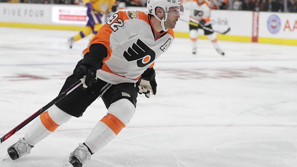 Ein Bild der Vergangenheit: Mark Streit im Trikot der Philadelphia Flyers. (Archivbild)